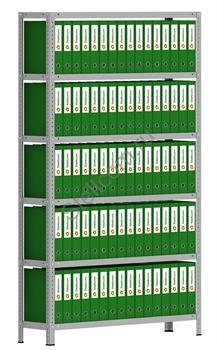 Архивный стеллаж СТА 2000*1200*300 - фото 5267