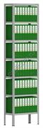 Архивный стеллаж СТА 2500*700*300
