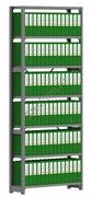 Архивный стеллаж СУА 2500*1060*300