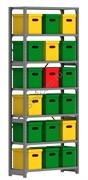 Архивный стеллаж СУА 2500*1060*400