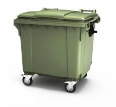 22.C19 Контейнер для мусора 1100 л (Россия) - фото 10434