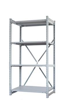 Стеллаж металлический сборный СУ/ТСУ 150 2000*1260*800 - фото 11403