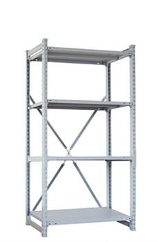 Стеллаж металлический сборный СУ/ТСУ 300 2000*1560*400 - фото 11459