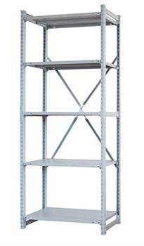 Стеллаж металлический сборный СУ/ТСУ 300 2500*1260*300 - фото 11473