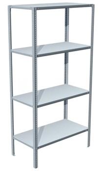 Стеллаж металлический для офиса 1800*700*800 (4 полки) - фото 11660