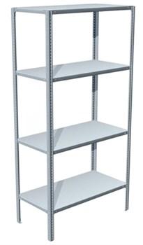 Стеллаж металлический для офиса 1800*1000*400 (4 полки) - фото 11691
