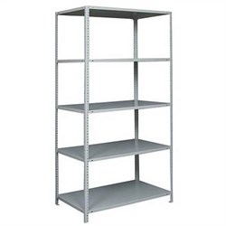 Стеллаж металлический для офиса 2200*1000*300 (5 полок) - фото 11701