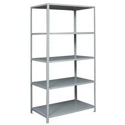 Стеллаж металлический для офиса 2500*1000*300 (5 полок) - фото 11706