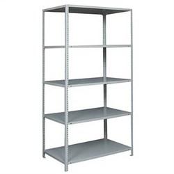 Стеллаж металлический для офиса 2500*1200*400 (5 полок) - фото 11739