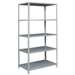 Стеллаж металлический для офиса 2500*1200*500 (5 полок) - фото 11740