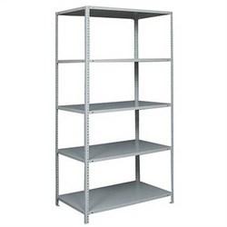 Стеллаж металлический для офиса 2500*1200*800 (5 полок) - фото 11742