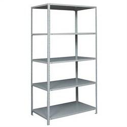 Стеллаж металлический для офиса 3000*1200*400 ( 6 полок ) - фото 12274
