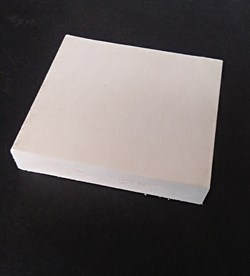 Пластиковый настил для лавок и скамеек в виде штакетника 20*80*1500 - фото 13656