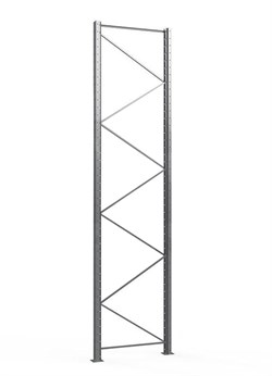 Рама паллетного стеллажа 3000/1100 (профиль 100) - фото 14461