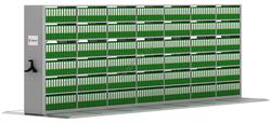 Передвижной стеллаж металлический сборный 2415*7000*600 - фото 5242