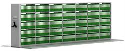 Передвижной стеллаж металлический сборный 2065*7000*600 - фото 5249