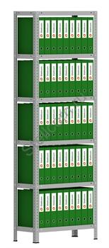 Архивный стеллаж металлический сборный  СТА 2000*700*300 - фото 5265