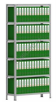 Архивный стеллаж металлический сборный  СТА 2000*1000*300 - фото 5266