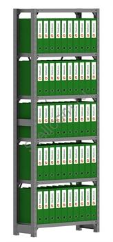 Архивный стеллаж металлический сборный  СУА 2000*760*300 - фото 5282