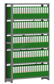 Архивный стеллаж металлический сборный  СУА 2000*1260*300 - фото 5284