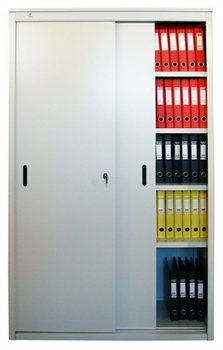 Архивный шкаф-купе металлический сборный AL 1850*960*450 - фото 5936