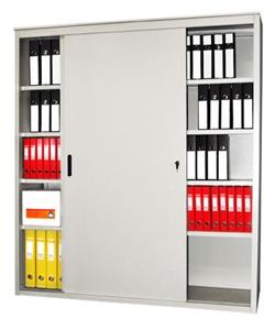 Архивный шкаф-купе металлический сборный AL 2000*1500*450 - фото 5942