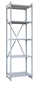 Стеллаж металлический сборный СУ/ТСУ 150 2500*760*300 - фото 7649