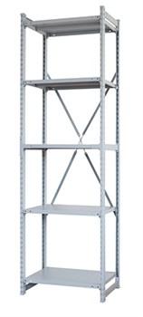 Стеллаж металлический сборный СУ/ТСУ 300 2500*760*400 - фото 7654