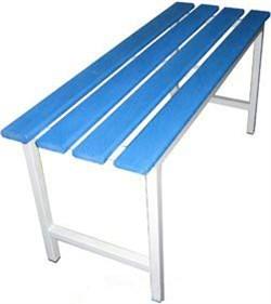 Скамейка с пластиковым настилом ПН800