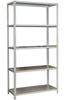 Стеллаж для кладовки металлический сборный 2500*700*300 (5 полок) - фото 9112