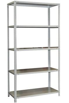 Стеллаж для кладовки металлический сборный 2500*700*400 (5 полок) - фото 9113