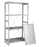 Перфорированный стеллаж металлический сборный 2500*760*800