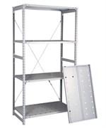 Перфорированный стеллаж металлический сборный 2000*760*800