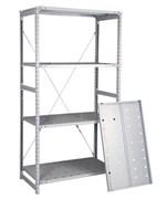 Перфорированный стеллаж металлический сборный 2000*760*600
