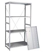 Перфорированный стеллаж металлический сборный 2500*760*600
