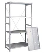 Перфорированный стеллаж металлический сборный 2000*760*500