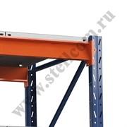 Полка 1250*785 металлический настил