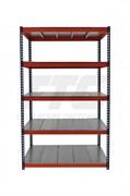 Стеллаж металлический серии Профи-Т КРЕПЫШ 2500*1540*770 с металлическим настилом