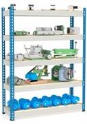 Стеллаж металлический сборный МКФ 2000*1525*508 (5 полок)