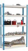Стеллаж металлический сборный МКФ 2500*1525*760 (5 полок)