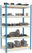 Стеллаж металлический сборный МКФ 2500*1830*508 (5 полок)