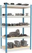 Стеллаж металлический сборный МКФ 2000*1830*760 (5 полок)