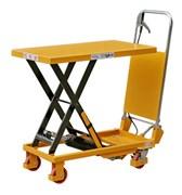 Подъемный стол SP-800 (ручной, гидравлический, ножничный)